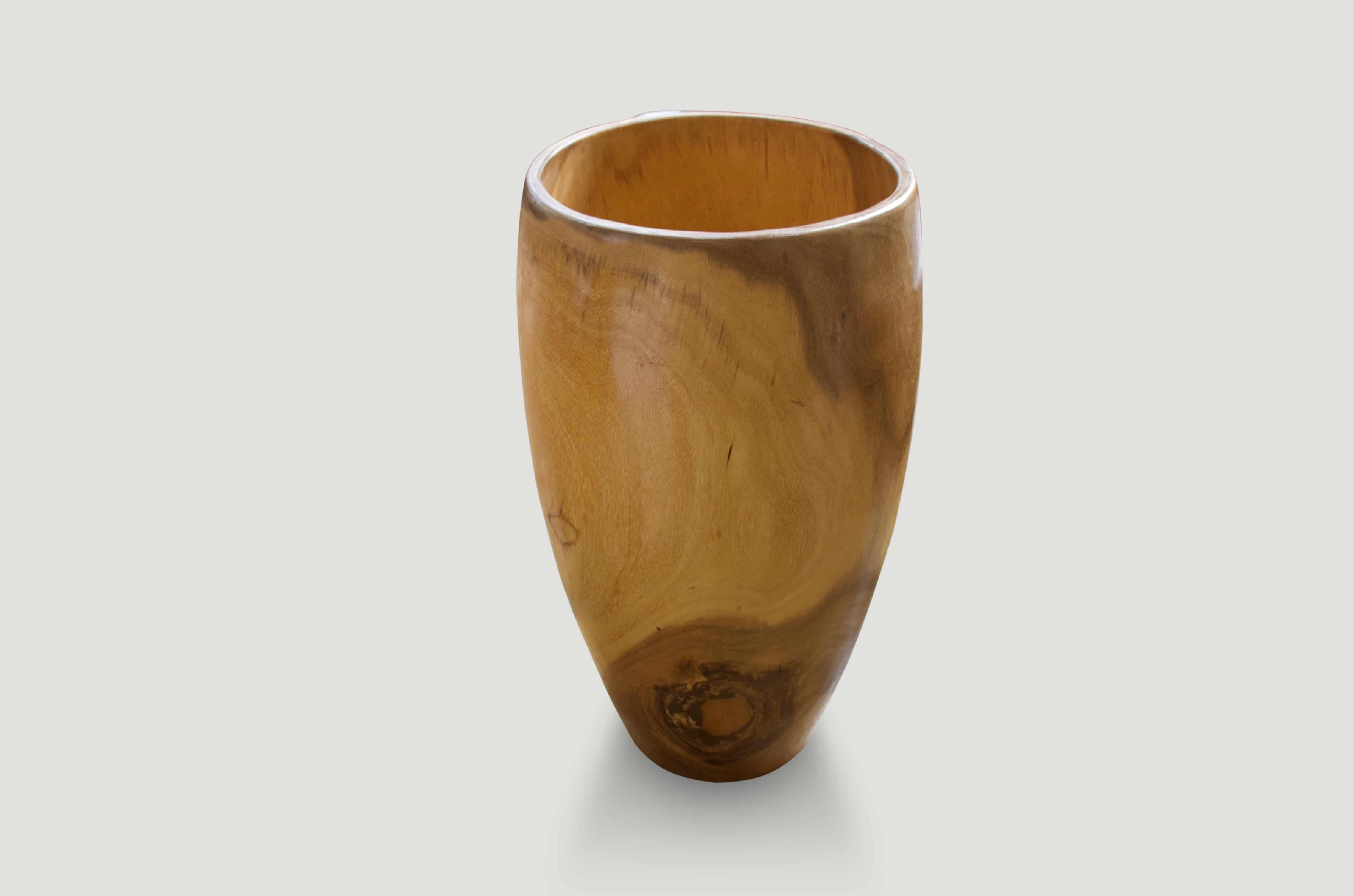 palm wood container