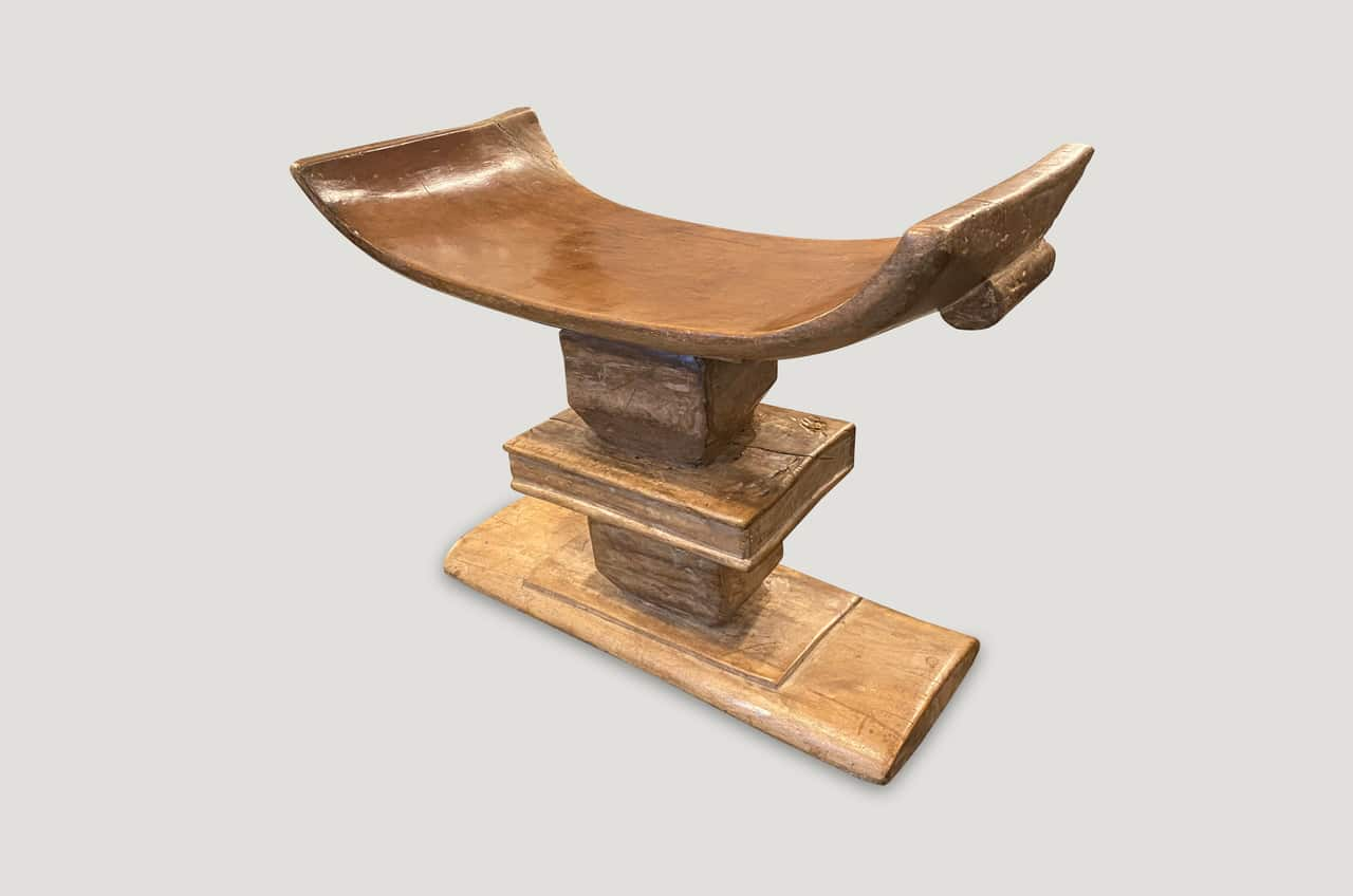 African Ashanti bench or stool