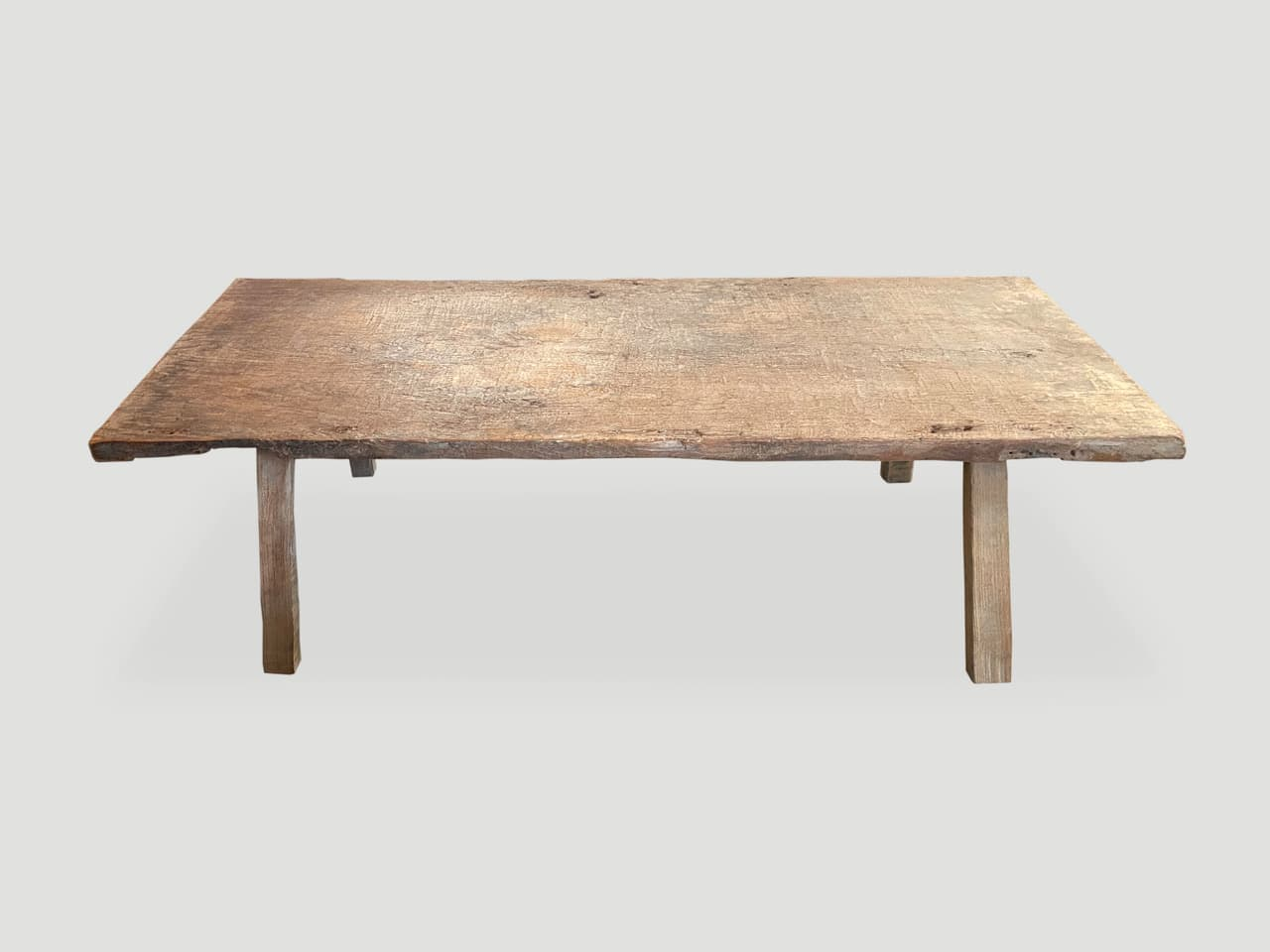 teak coffee table or wide bench