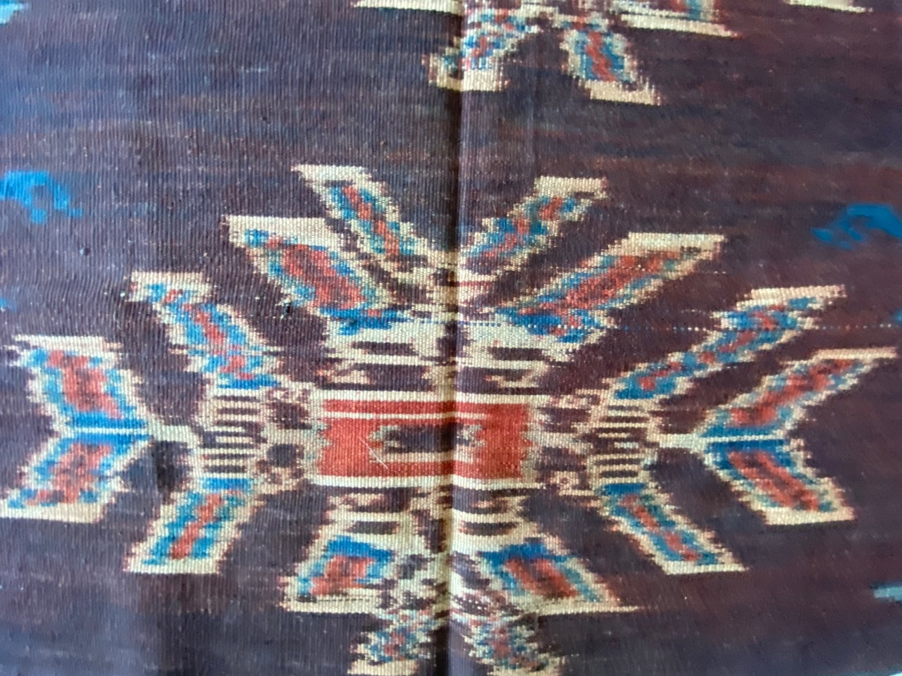 long rare ikat from the island of Sumba
