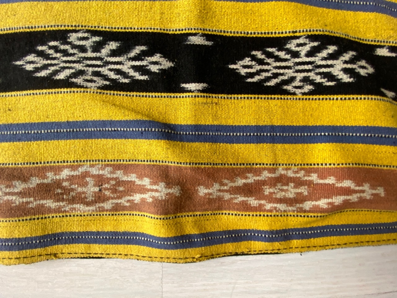 antique Ikat textile from the island of Sumba