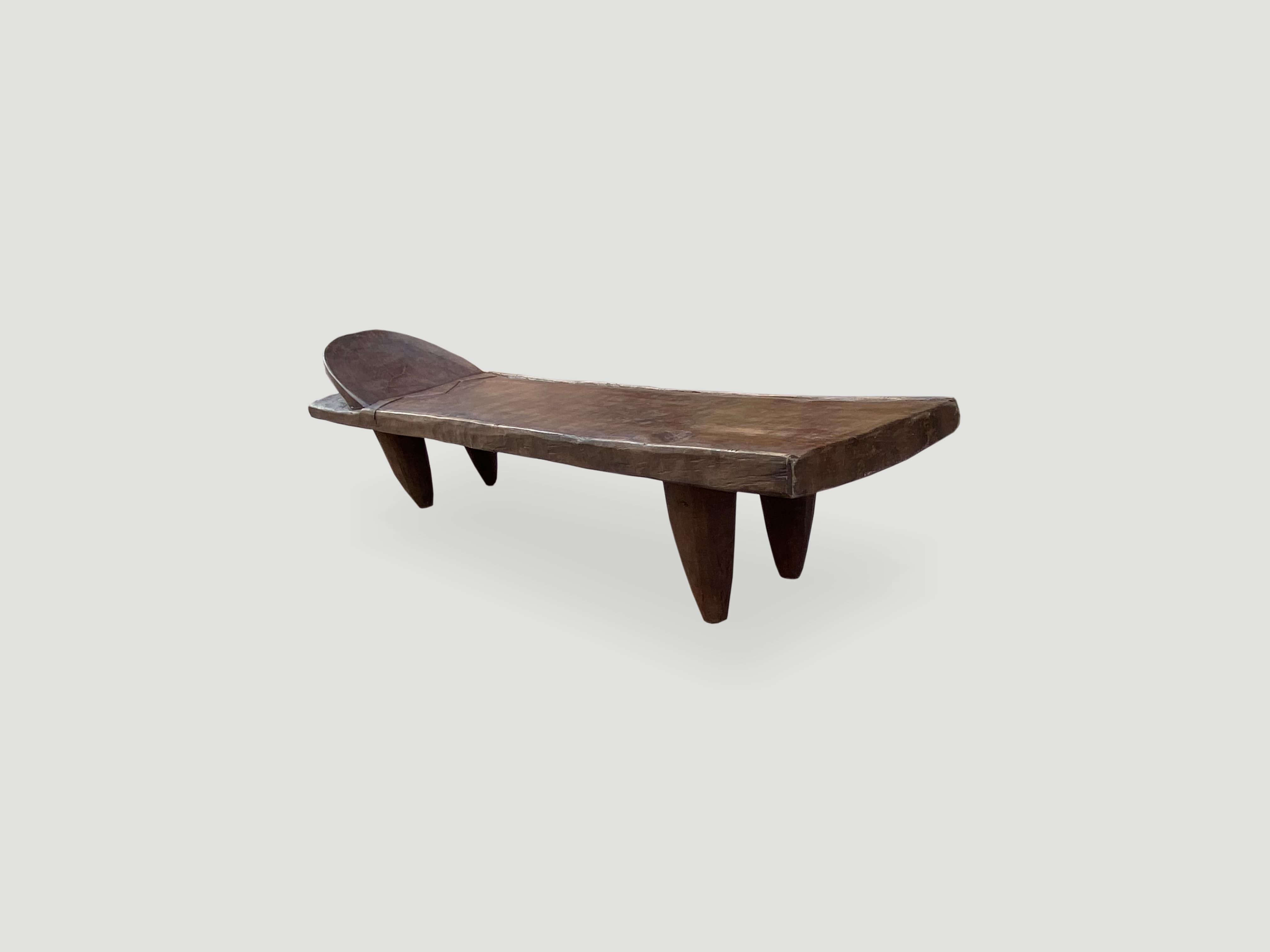 iroko wood coffee table